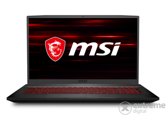 MSI GF75 Thin 10SCXR (9S7-17F412-611) notebook, fekete
