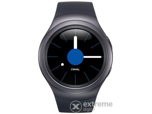 Samsung Gear S2 Smartwatch okosóra, dark grey