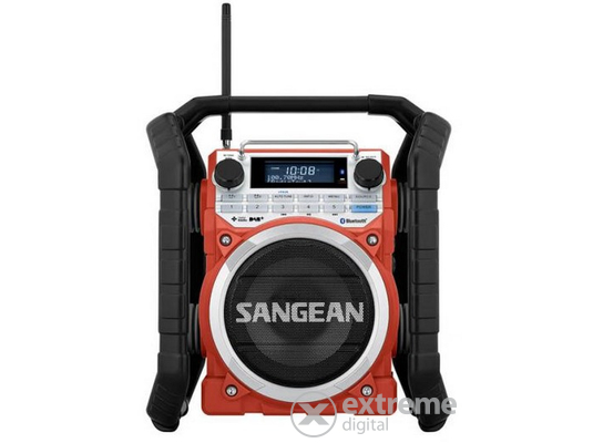 Sangean U-4 DBT RED strapabíró digitális Bluetooth rádió 8001996bde