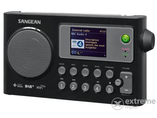 Sangean WFR-27C Internet rádió 8f5f39e508