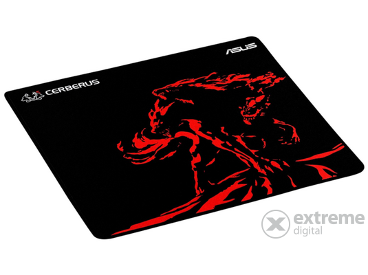 Asus Cerberus MAT PLUS RED gamer egérpad
