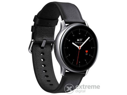 Samsung Galaxy Watch Active 2 okosóra (40mm, Stainless Steel), ezüst