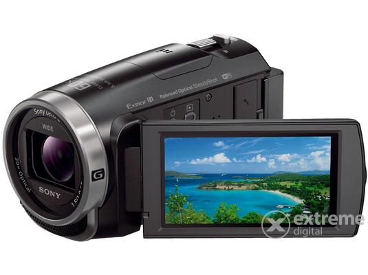 Sony HDR-CX625 videokamera, fekete