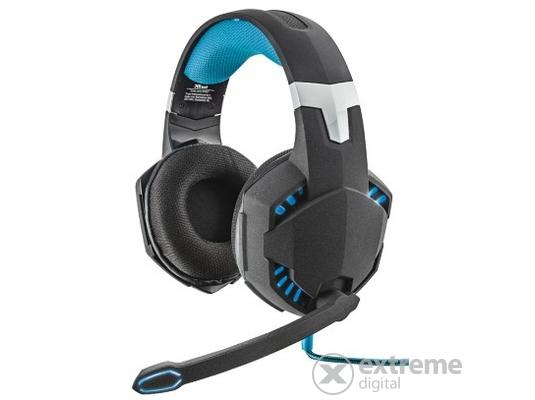 Trust GXT363 7.1 Bass Vibration gamer USB fejhallgató c655e6fb95