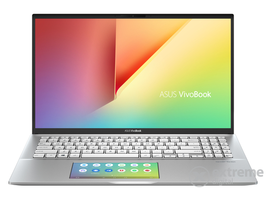 Asus NB VivoBook S532FL-BN271T notebook, ezüst + Windows10